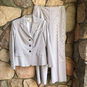 Jones New York Suit Jacket with Pants Size 12